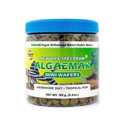 New Life Spectrum Algaemax Mini Wafers 125gr/7.5mm