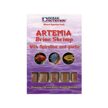 Ocean Nutrition Artemia with Spirulina and Garlic 100gr