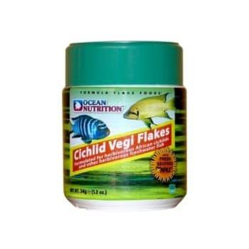 Ocean Nutrition Cichlid Vegi Flakes 34gr