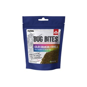 Fluval Bug Bites Color Granules 1.4-2.2mm 125gr