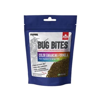 Fluval Bug Bites Color Granules 1.4-2.2mm 125gr