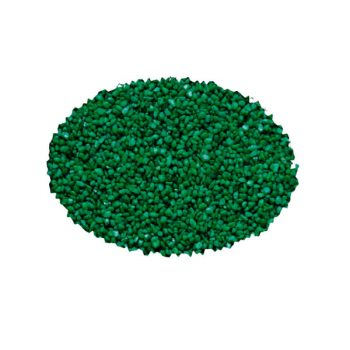 HAQUOSS Emerald green ceramic gravel 2-3mm Bag 2Kg