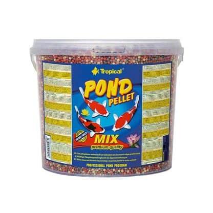 Tropical Pond Pellet Mix S Bucket 700gr/5lt