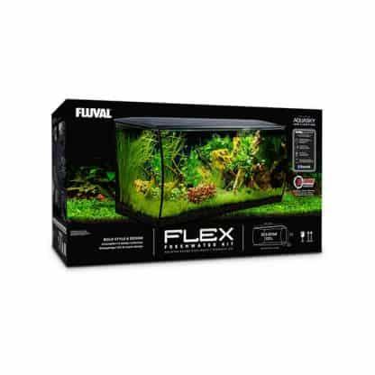 Fluval Flex Black 123lt