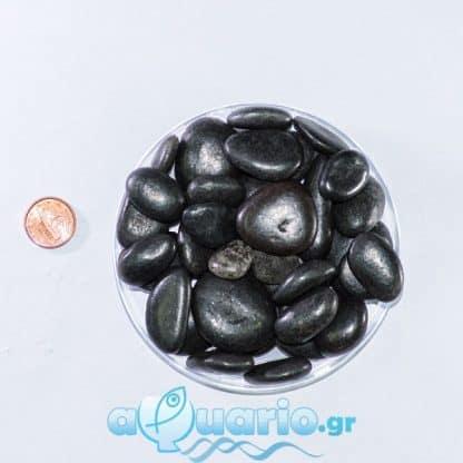 Black Shiny Pebble 1kg
