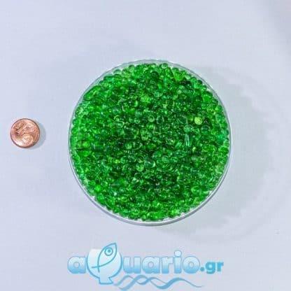 Glass Green 1-3mm -1kg