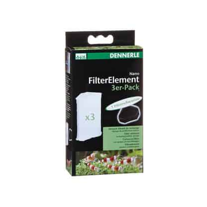 Dennerle Nano Filter Element Pack Of 3