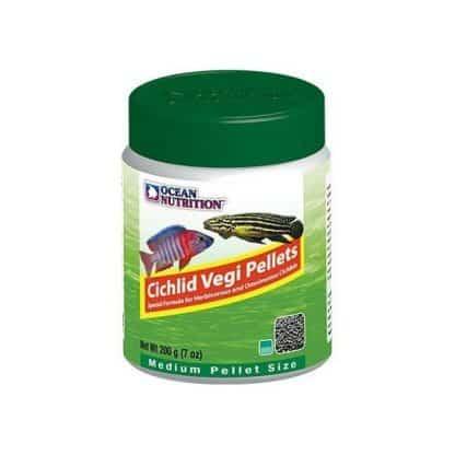 Ocean Nutrition Cichlid Vegi Pellets Medium 200gr
