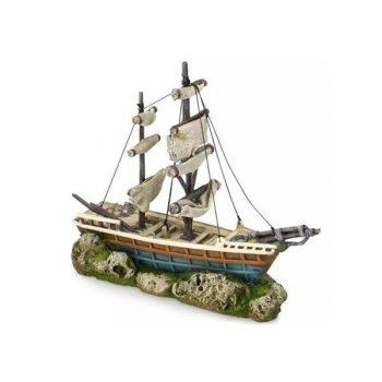 Aqua Della Boat With Sails 38×12.5×31.5cm