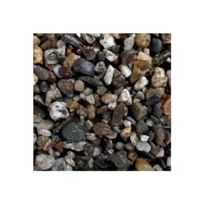 Aqua Della Aquarium gravel dark coarse 3-6mm-2kg