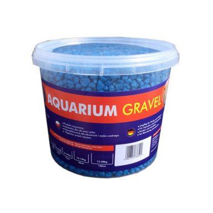 Aqua Nova Colour gravel 5kg (3L) 4-8mm, blue